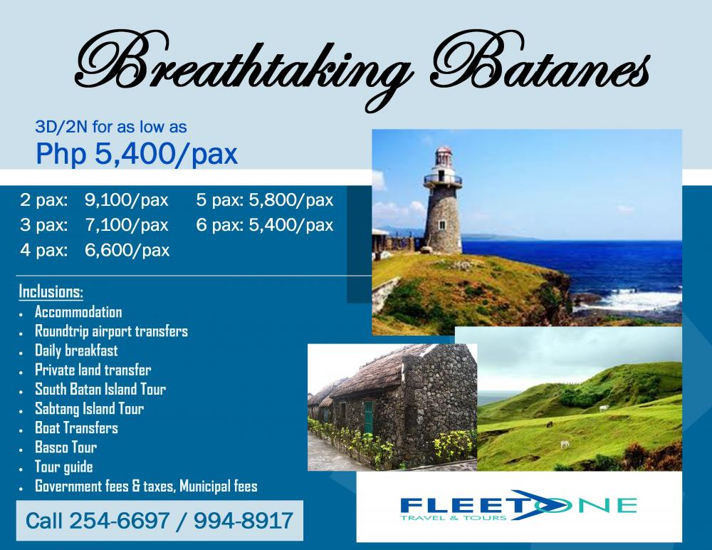 Batanes Travel Package With Airfare